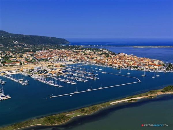 Lefkada town ionian islands